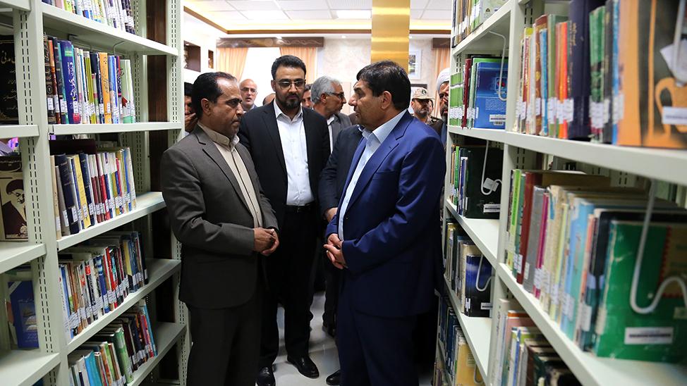 گزارش تصویری افتتاح کتابخانهی برکت «محتاج نهی» در شهر نهبندان