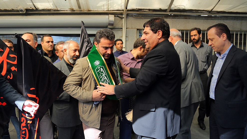 گزارش تصویری اعزام خادمان موکبهای ستاد اجرایی فرمان حضرت امام(ره) در مراسم اربعین حسینی