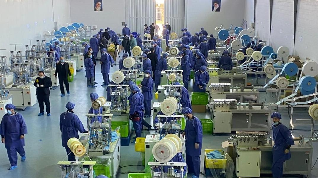 راهاندازی بزرگترین کارخانه تولید ماسکهای تنفسی جنوب غرب آسیا