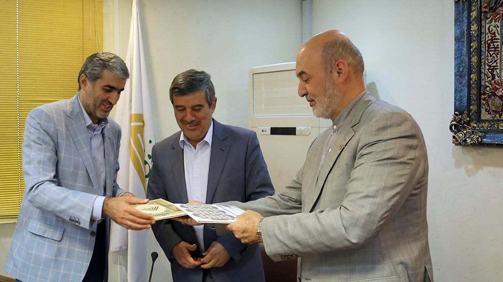 گزارش تصویری امضای تفاهمنامهی همکاری میان بنیاد برکت و صندوق کارآفرینی