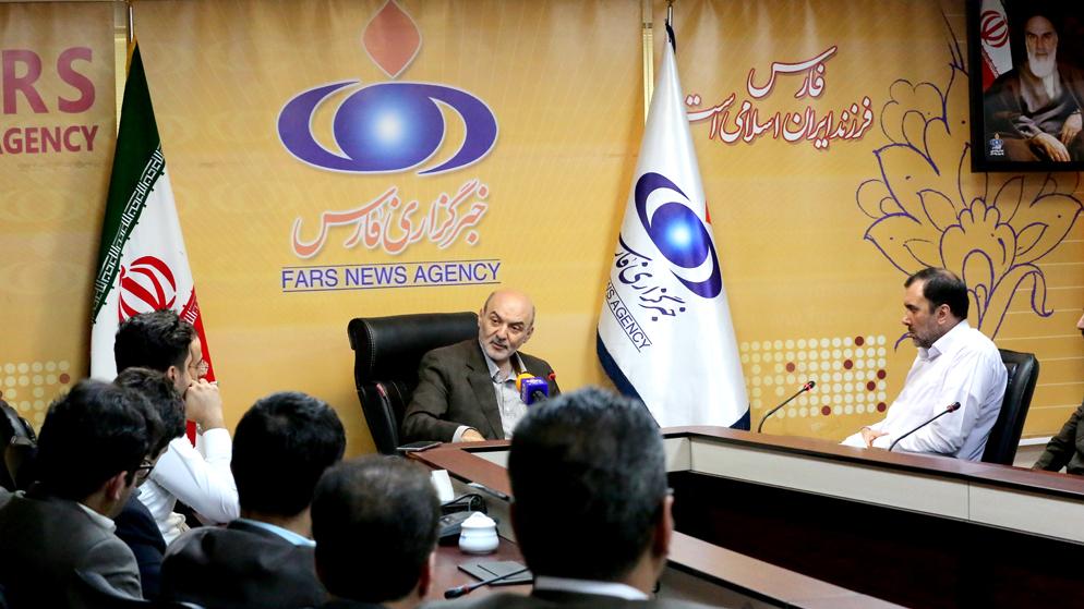 گزارش تصویری بازدید مدیرعامل بنیاد برکتِ ستاد اجرایی فرمان حضرت امام(ره) از خبرگزاری فارس