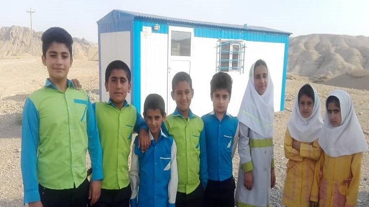 تم انها دور مدارس الخیام في مدینة كتوند بمساعي و جهود مؤسسة البركة