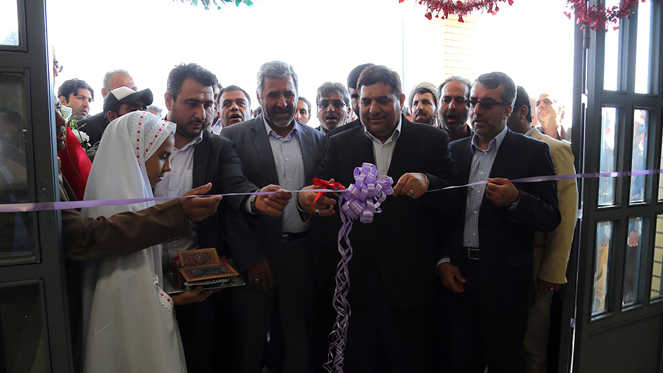 Inauguration and Beginning of Construction Operation of Four Schools of Barakat Foundation in Garmsar County
