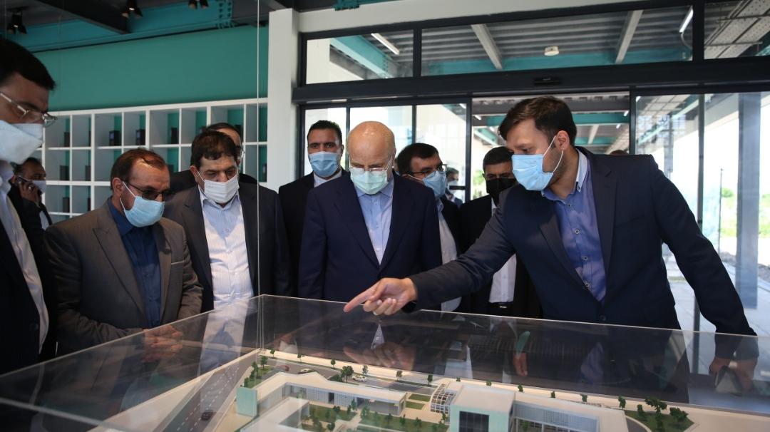 بازدید رئیس مجلس از شهرک دارویی برکت
