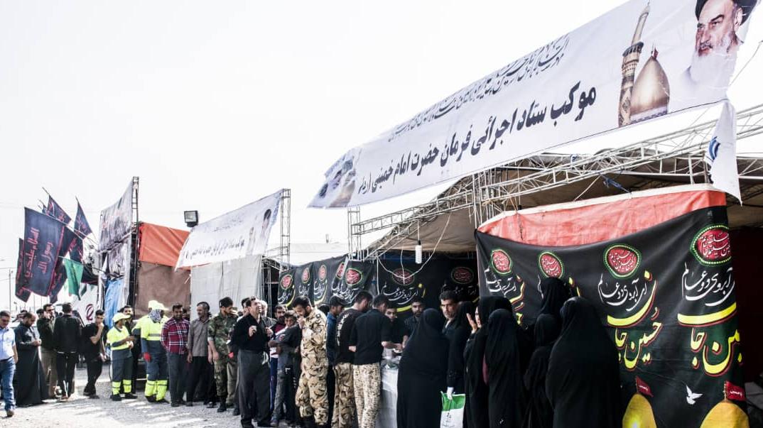 خدمات متنوع ستاد اجرایی فرمان حضرت امام(ره) در اربعین حسینی