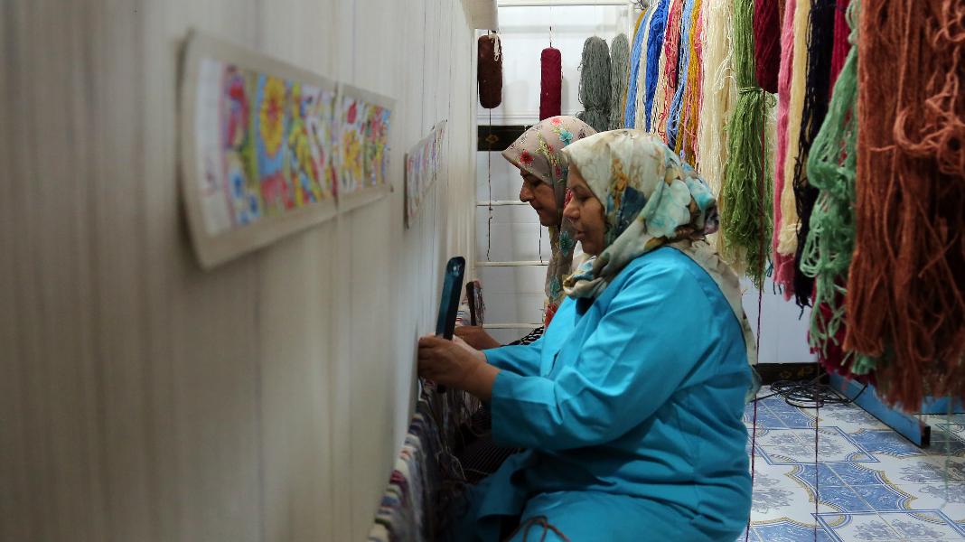 احیای فرش راور کرمان با 1000 شغل برکت