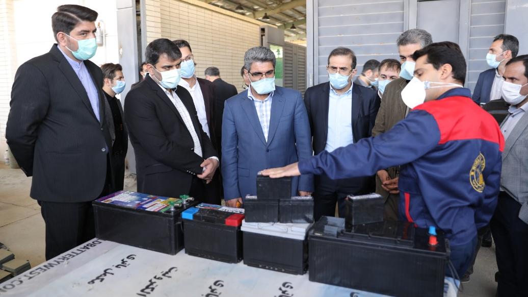 بهرهبرداری از ۱۳۶۱ طرح اشتغالزایی و ۱۰ مدرسه سیار برکت در کرمانشاه