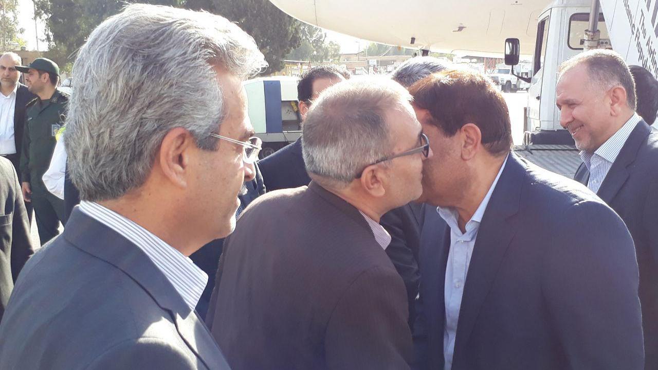 ورود رییس ستاد اجرایی فرمان حضرت امام(ره) به شیراز برای دیدار با مردم  و مسئولان استان فارس