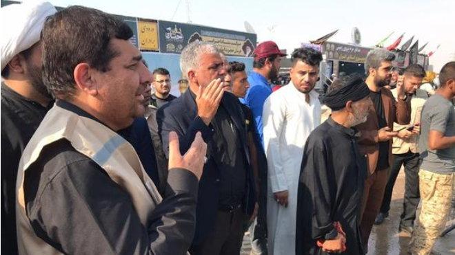 خدمترسانی گستردهی ستاد اجرایی فرمان حضرت امام(ه) به زائران اربعین حسینی