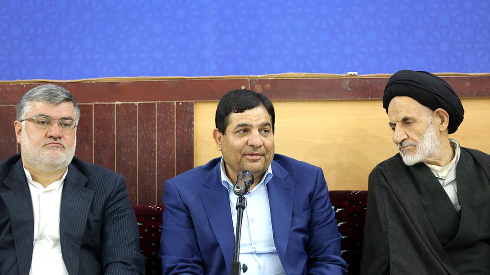 گزارش تصویری دیدار رییس ستاد اجرایی فرمان حضرت امام(ره) با نمایندهی ولی فقیه در استان خراسان جنوبی