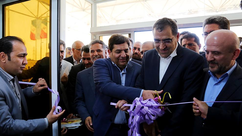 گزارش تصویری آیین افتتاح بیمارستان برکت شهید ستاری قرچک