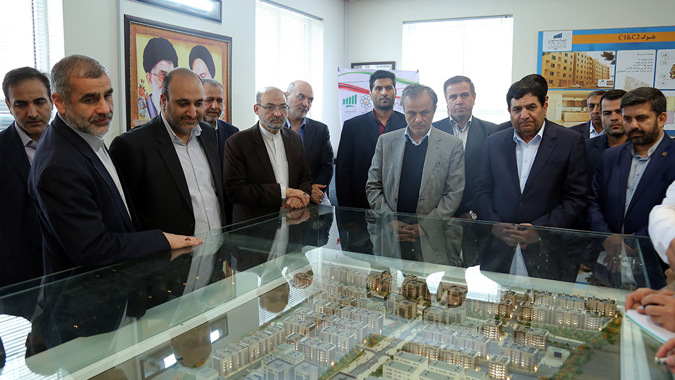Report on Concurrent Inauguration of 2,000 Residential Units in Resalat Residential Complex of Mashhad and also 29 Development - Infrastructural Projects of Barakat Foundation in Khorasan Razavi Province in PHOTO
