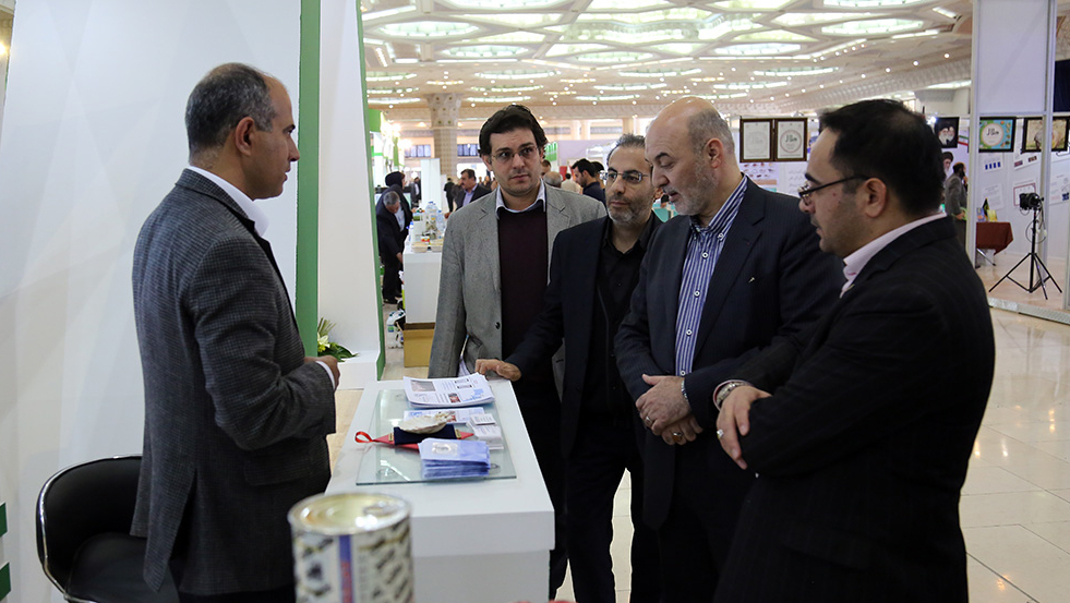 """Active Presence of Barakat Foundation in Intl. Exhibition of """"Four Decades of Agricultural Achievements"""" in PHOTO"""
