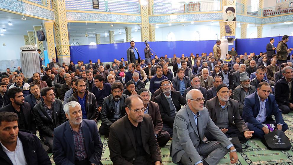 گزارش تصویری برگزاری مراسم بهرهبرداری از طرحهای اشتغالزایی اجتماعمحور بنیاد برکت در بخش اژیه