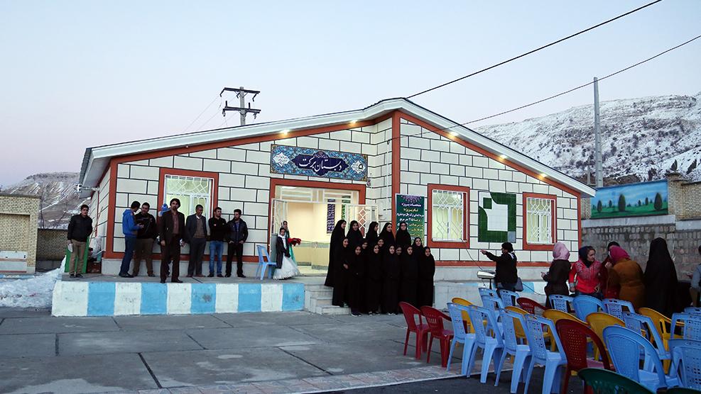 قامت مؤسسة البركة ببناء 29 مدرسة في كهكیلویة و بویر أحمد