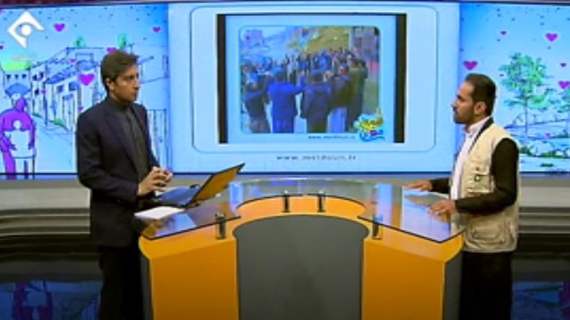 حضور تسهیلگر بنیاد برکت در برنامهی حرف حساب شبکهی یک سیما در خصوص ارایهی گزارش فعالیتهای اشتغالزایی برکت در استان کردستان