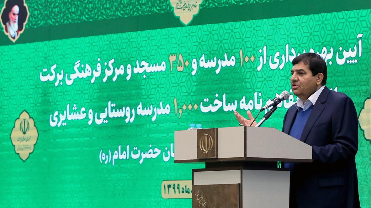 مخبر در مراسم بهرهبرداری از ۱۰۰ مدرسه برکت خبر داد:  ایجاد 230 هزار شغل توسط ستاد اجرایی فرمان امام در سال 99