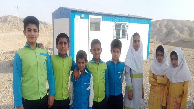 Tent Schools of Gotvand Nomads Were Removed by the Barakat Foundation
