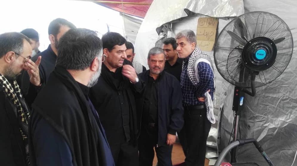 خدمات قرارگاه جهادی خدمترسانی ستاد اجرایی فرمان حضرت امام(ره) به زائران اربعین