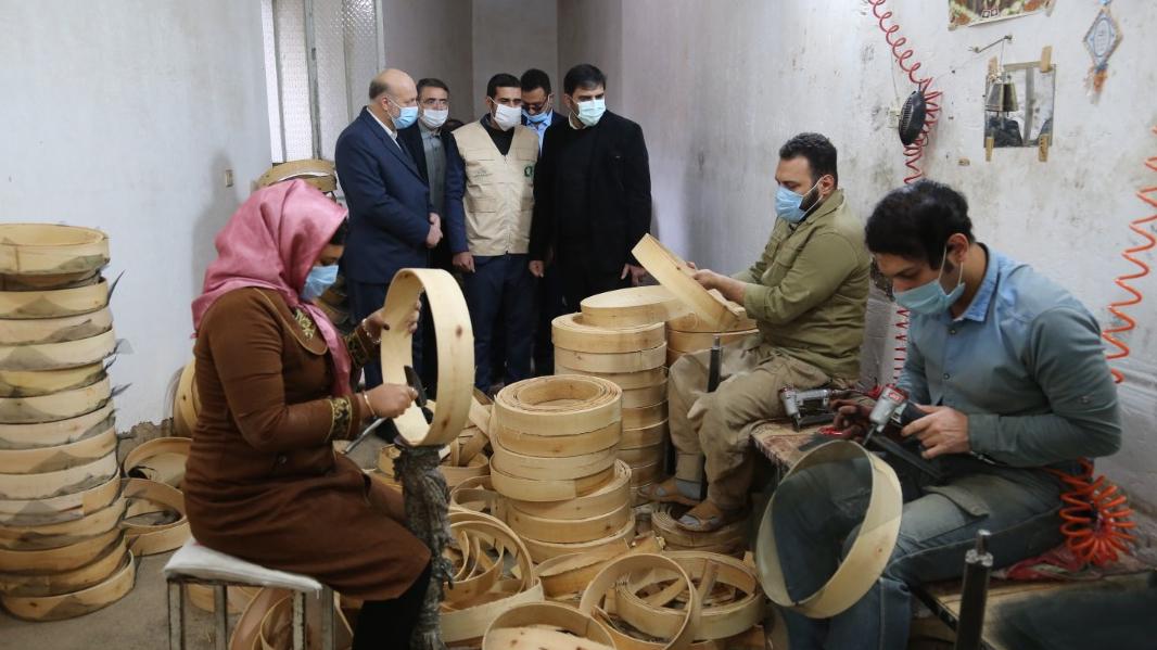 با حضور مدیرعامل بنیاد برکت در ورامین کلید خورد: بهرهبرداری از 2700 شغل برکت در شهرستانهای استان تهران