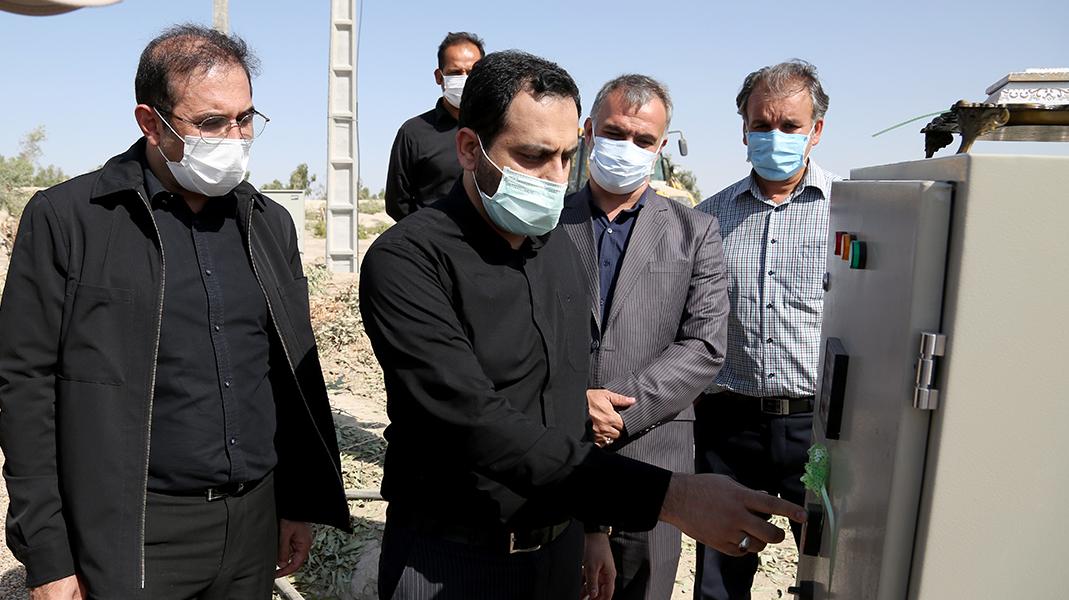 با افتتاح خط 20 کیلومتری انتقال آب به مرز مهران صورت گرفت؛ بهرهبرداری از پایانه برکت با هدف خدمترسانی به زائران اربعین