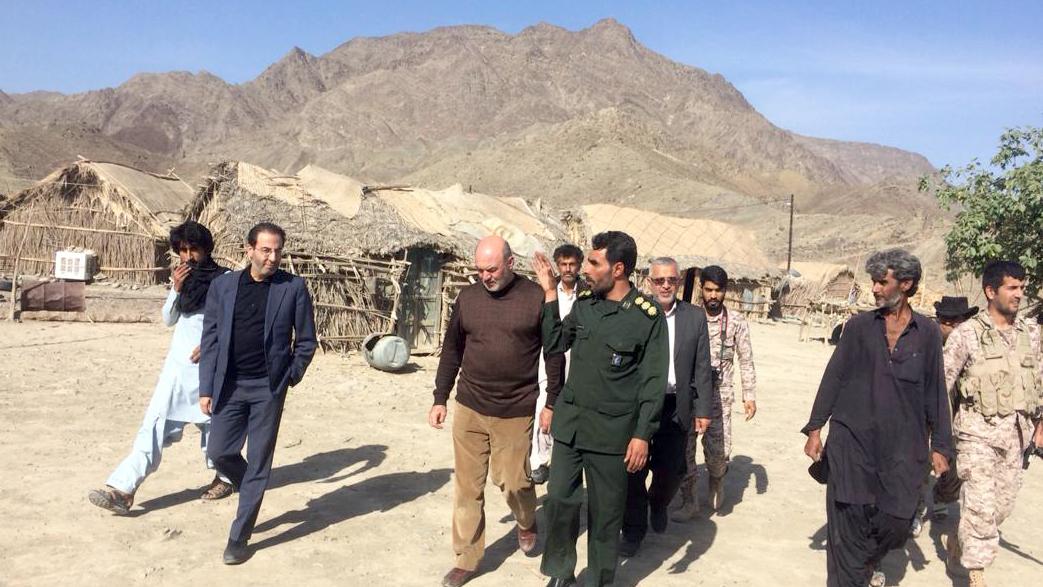 بازدید مدیرعامل بنیاد برکت از مناطق محروم و مرزی سیستان و بلوچستان