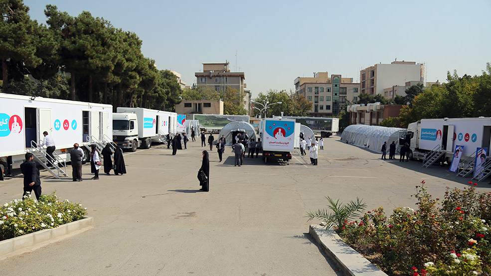 """ارسال قوافل الصحة الجهادیة """"احسان"""" الی المناطق المحرومة للبلد"""